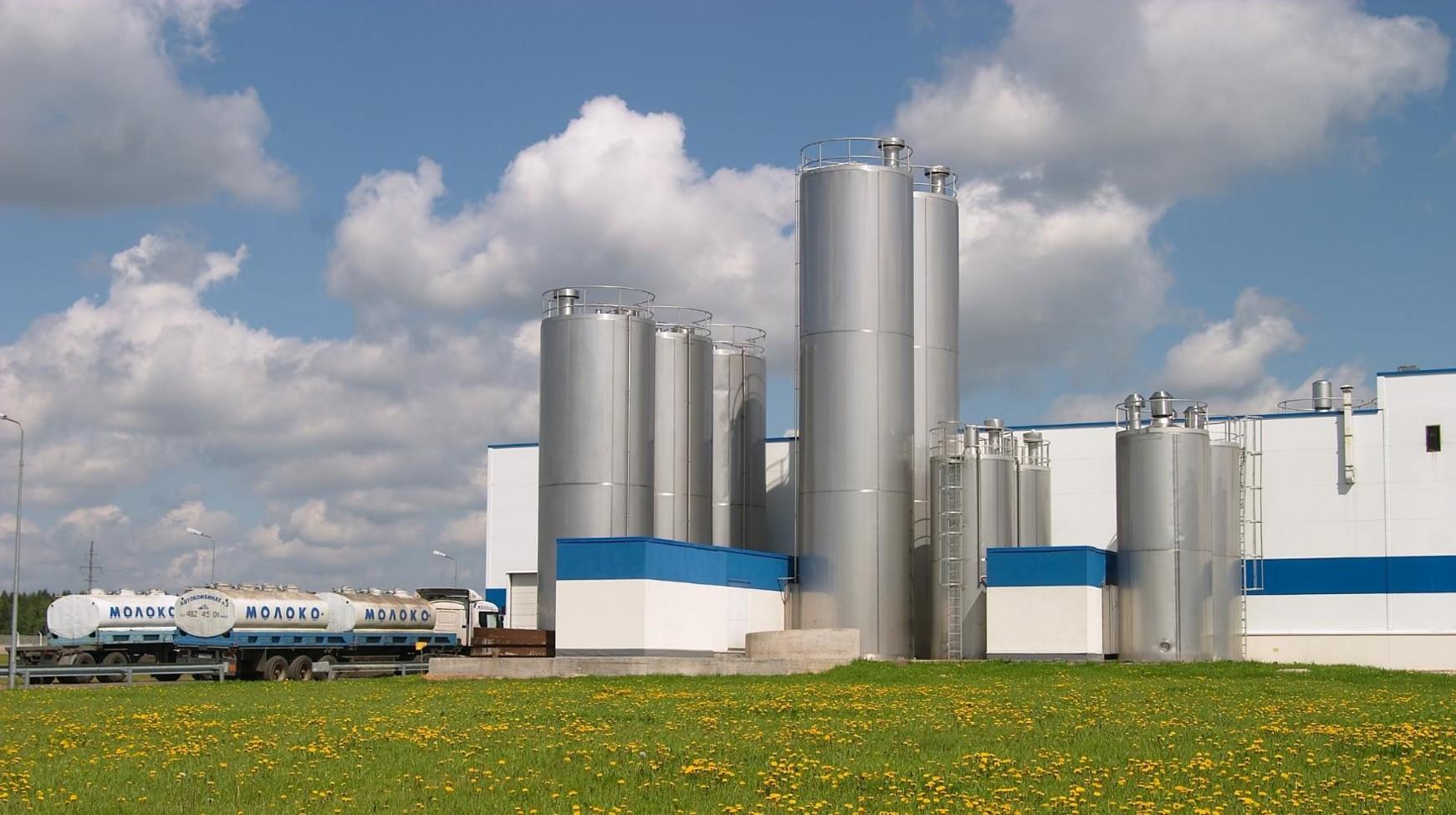 Завод молочной продукции Danone