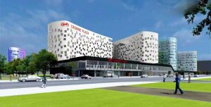 Гостинично-деловой комплекс «Crowne Plaza»