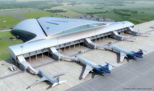 """Airport """"Kurumoch"""""""