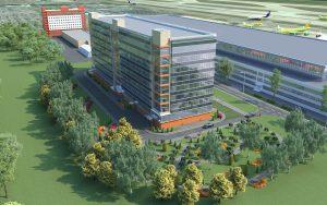 Центр обработки данных и офис аэропорта «Домодедово»