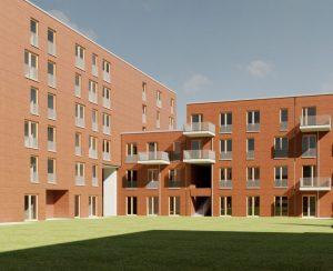 Жилой комплекс в Бонне