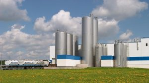 Danone dairy production plant