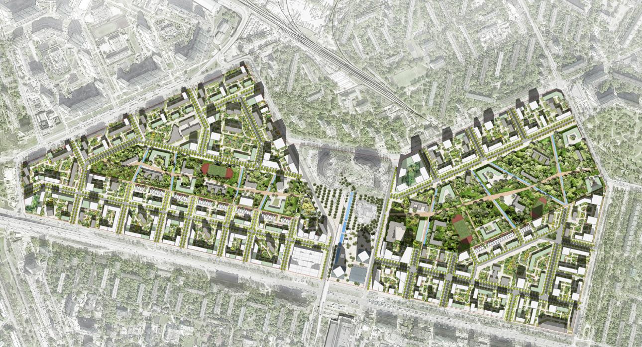 Реновация  квартала Кузьминки в консорциуме с AREP
