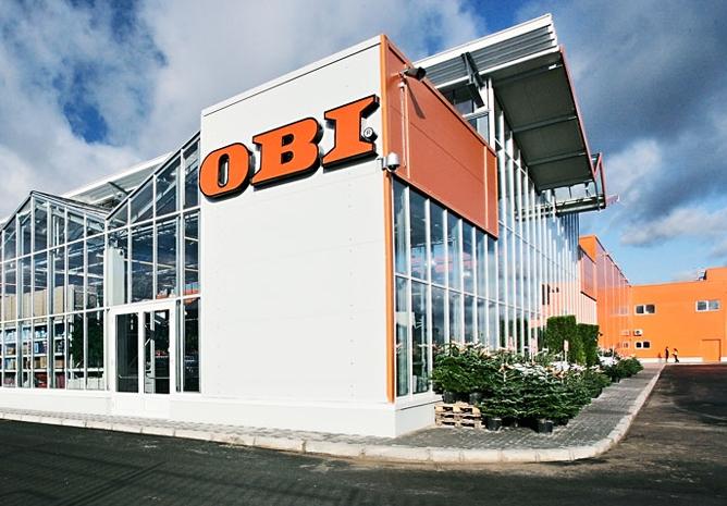 Гипермаркеты строительных материалов OBI